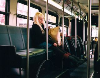 empty busses by PrettyPineapple