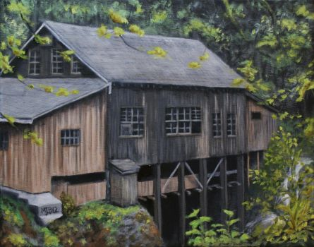 Down By The Old Mill Stream by mbeckett