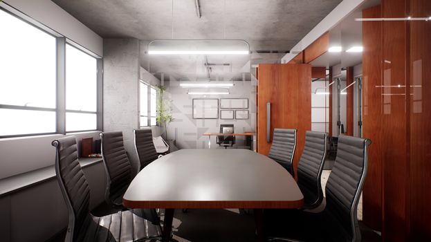 3W VR - Modern Office 1 by LCzin