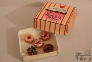Miniature donuts by EmisBakery