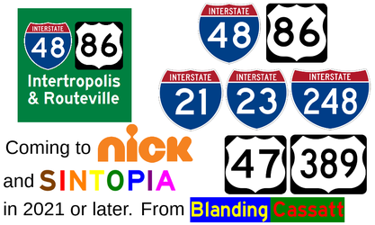 Intertropolis and Routeville coming to Nicktopia by Interstate48