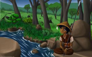 L5R - Eihi by the Creek by SP00KYELECTRIC