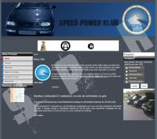 Speed Power Klub Website by Dredmix