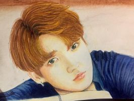BTS's Jungkook [+ speedpaint] by day-tunes