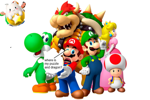 Funny Puzzle And Dragons SMB Edition Meme Picture by Guscraft808Beta2