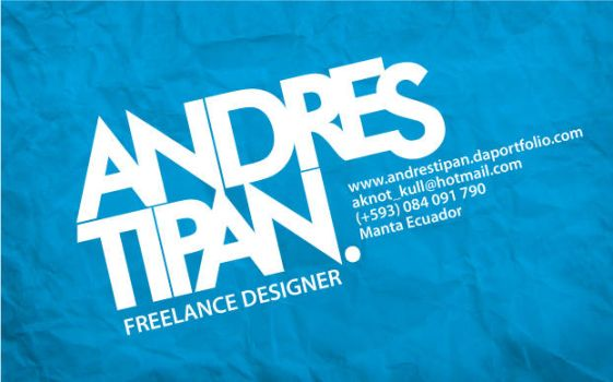 Andres Tipan by AknotK