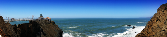 Panoramic of Point Bonita Lighthouse by FluttershyHD