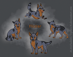 Flicker Character Studies by Tephra76