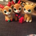 My TY Beanie Boos Reindeer by russellollyfan1