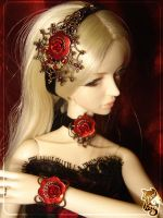 BJD doll jewellry : set 001 by lysel
