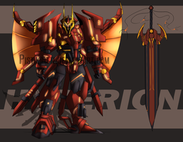 Etreos: Hyperion (WIP) by Pistikritti