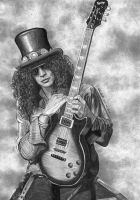 Slash Guns n Roses by lupinemagic