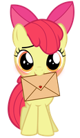 Apple Bloom has a crush on you! by PureZparity