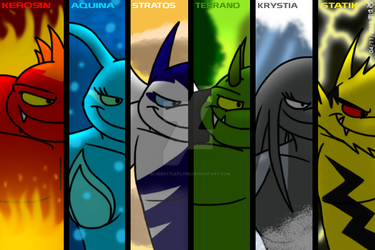 Forces Of Nature: Six Elements by BluebottleFlyer