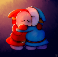 Shy Guy Hug by polarpace