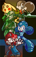 Smash Bros: The Demo Team by SkipperWing