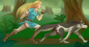 Running with the Wolf by Scarlet2Summer