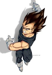 Vegeta remake by mrvanhite