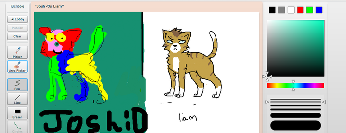 iScribble with Josh 1 by liamthelionn