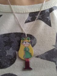 Star vs the Forces of Evil Star Necklace by Vavercraft