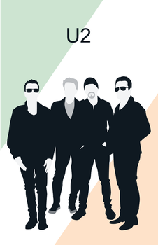 U2 Band Poster by WillowlarkDesigns