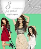 Victoria Justice png pack by Graphic-Mania