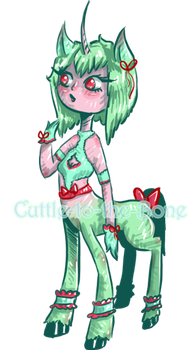 [25 p ADOPT]  Misty Unicorn  [CLOSED] by Cuttle-to-the-Bone