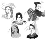 Disney - Historically accurate princesses by K-yon