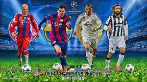 UEFA CHAMPIONS LEAGUE SEMI-FINALS 2015 by jafarjeef