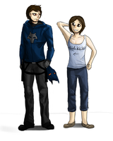 Collin and Lily by ShadowClawZ