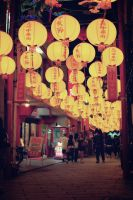 Lantern Street by WindyLife