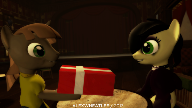 Birthday gift for Nat (2013) by AlexWheatLee