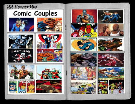 my 22 favorite Comic Couples by theaven
