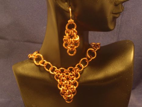 Copper Chain Maille Set by SlingerMD