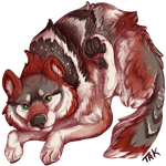 Mexican Gray Wolf Month is Done by TaksArt