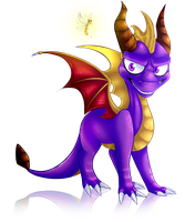 Spyro The Dragon by Emeiisaur