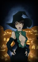 Morrigan - The Pumpkin Witch by Vaidilute