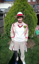 Fifth Doctor full cosplay by Londonexpofan