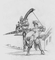 Technician Warbow by Khasdannyanlord