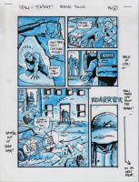 IDW TMNT Book Two Pg 6 by Kevineastman