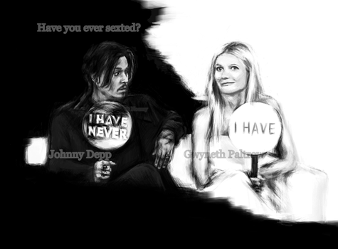 Johnny Depp-Ellen Show-Never Have I Ever by noemy8