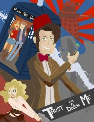 Doctor Who Poster by water-wing