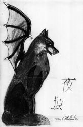 Night Wolf by Wol4ica