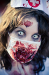 zombie nurse nikki by nikkinack