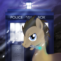doctor whooves by mechanicalmasochist