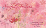 Soulful Flowers Vector Brushes by Camxso