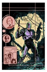 RoboCop Cover Colors by Mooneyham