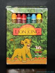 Lion King Crayons - 16 count by LionKingForLife