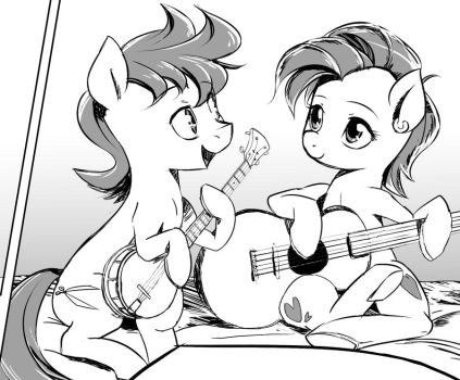 Random Ponies from Panels by ParadoxBroken