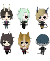[CLOSED] Demon/kemonomimi Adopts by Vesocile